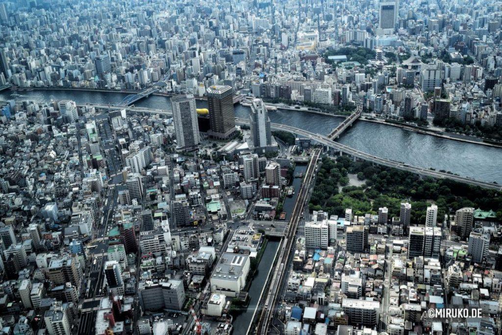 Tembo Deck, Aussicht, SKytree, Tokyo, Japan
