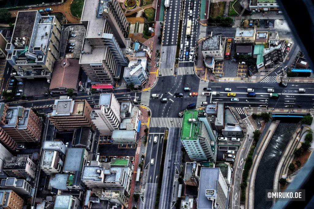 Ausblick auf Tokyo, Skytree, Japan