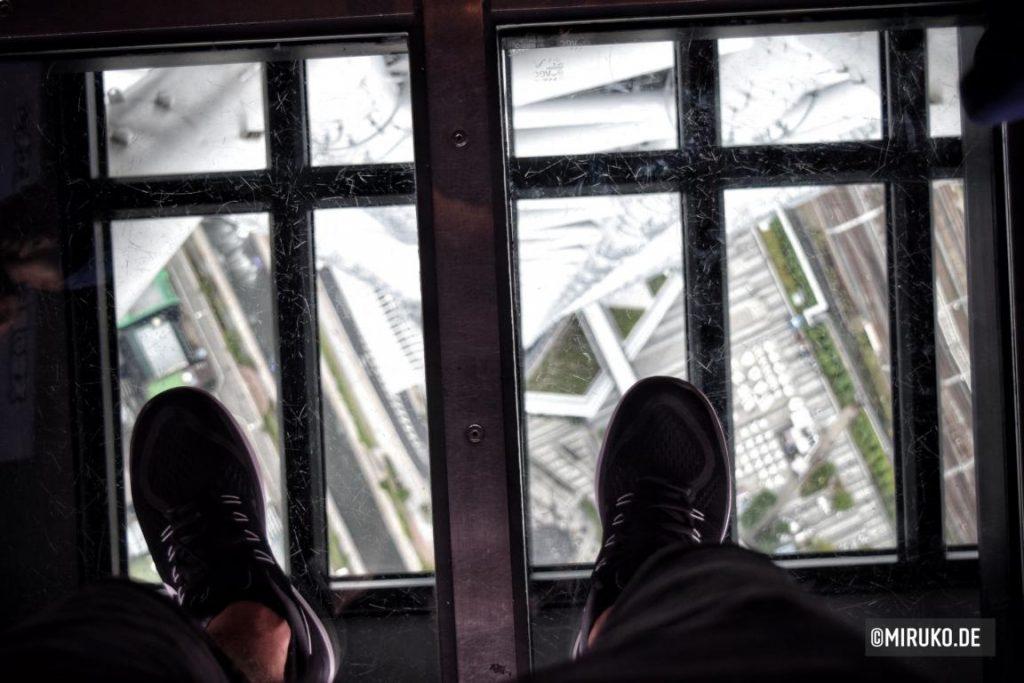 Glasboden, Tokyo Skytree Japan, Sehenswürdigkeit