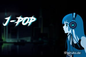 Anime, Mädchen mit Kopfhörer, J-Pop, Japan