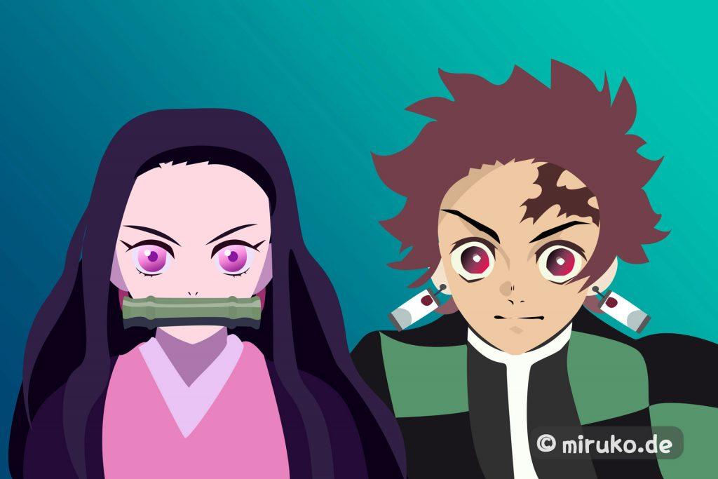Anime, Manga, Demon Slayer, Fanart
