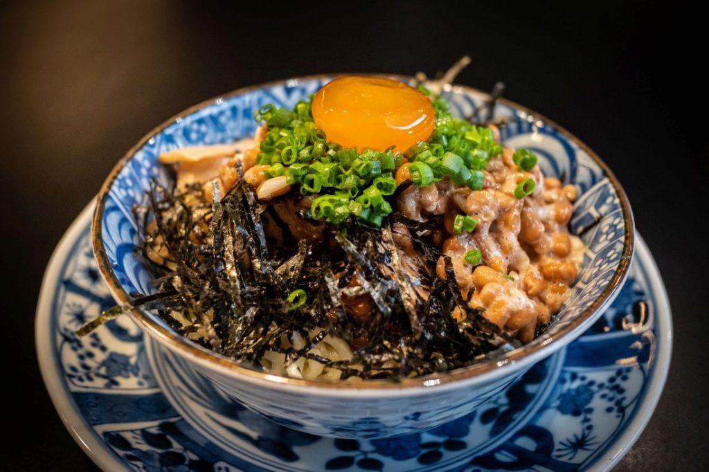 Natto, Bowl, Frühstück in Japan