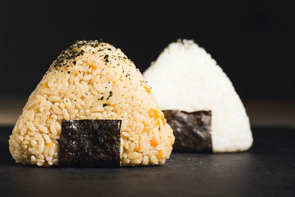 Japanisches Frühstück, Onigiri, Reis