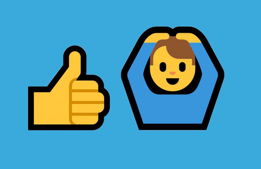 Daumen Hoch, Emojis, Alles Okay