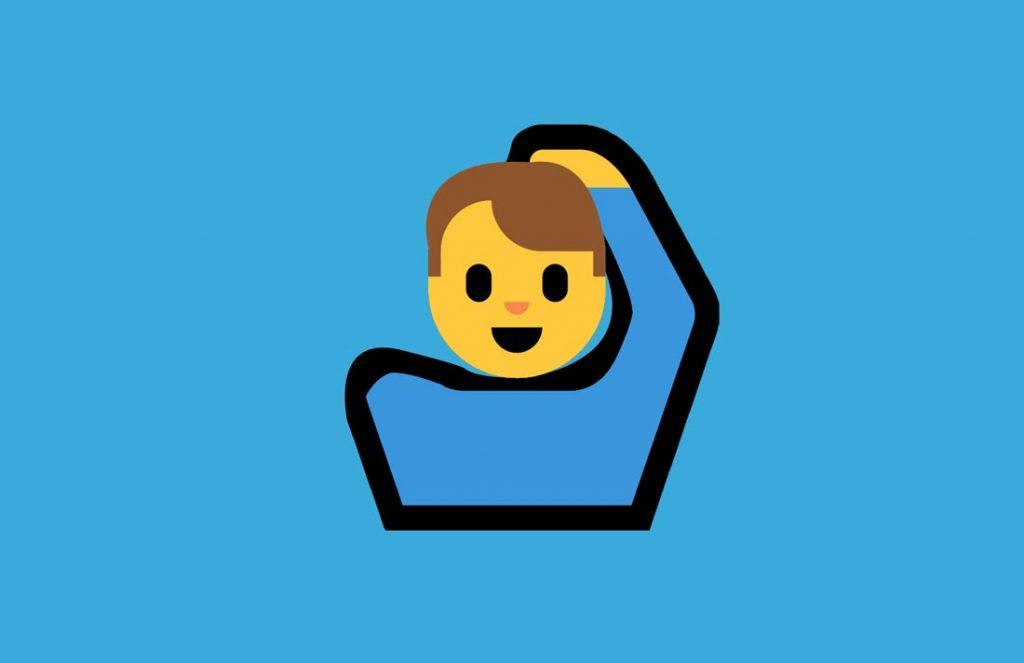 Emoji, Körpersprache in Japan