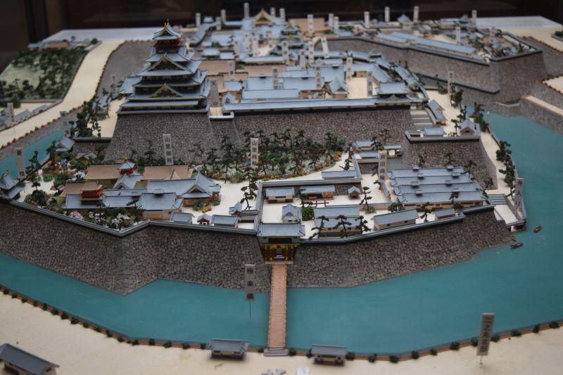 Osaka Castle Modell