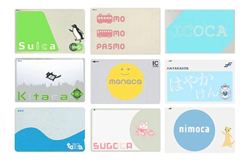 IC Karten in Japan