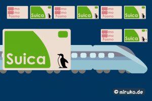 Suica Card, Japan, Grafik