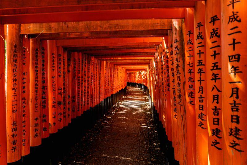 1000 Rote Tore, Fushimi Inari Torii Gates