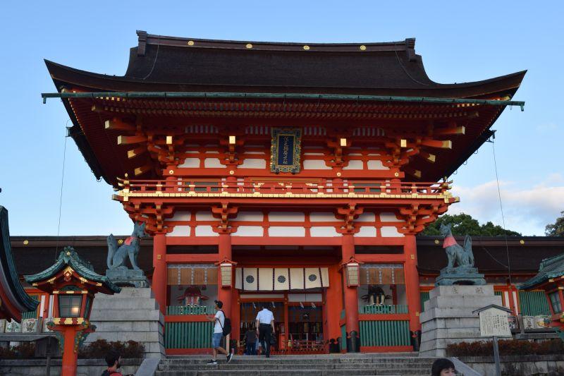 Romon Tor, Fushimi Inari Taisha, Kyoto