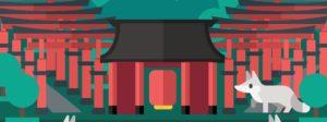 Fushimi Inari, Torii Gates, Grafik