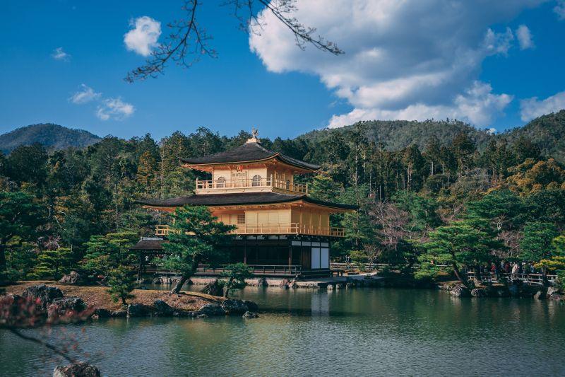 Kinkakuji Tempel in Kyoto, Goldener Pavillon
