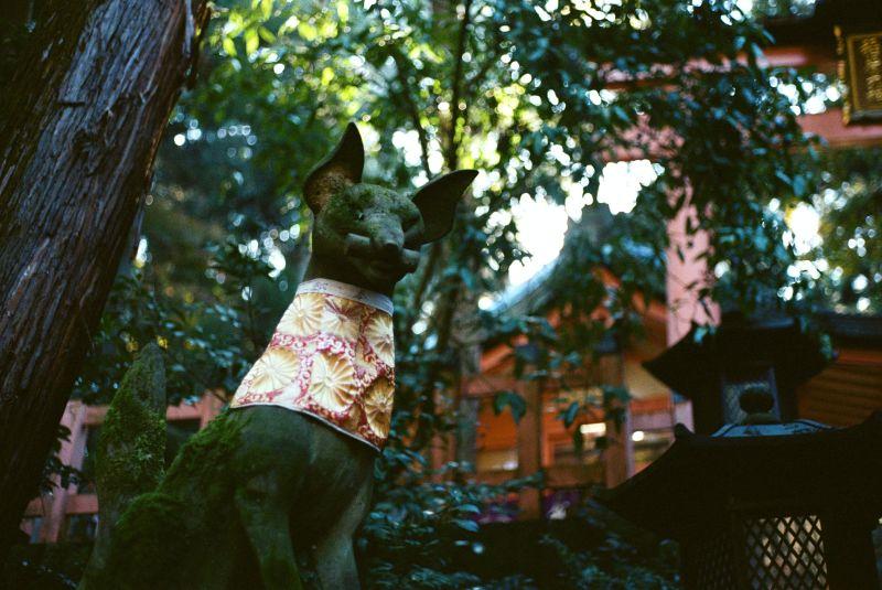 Fuchs Statue in Kyoto