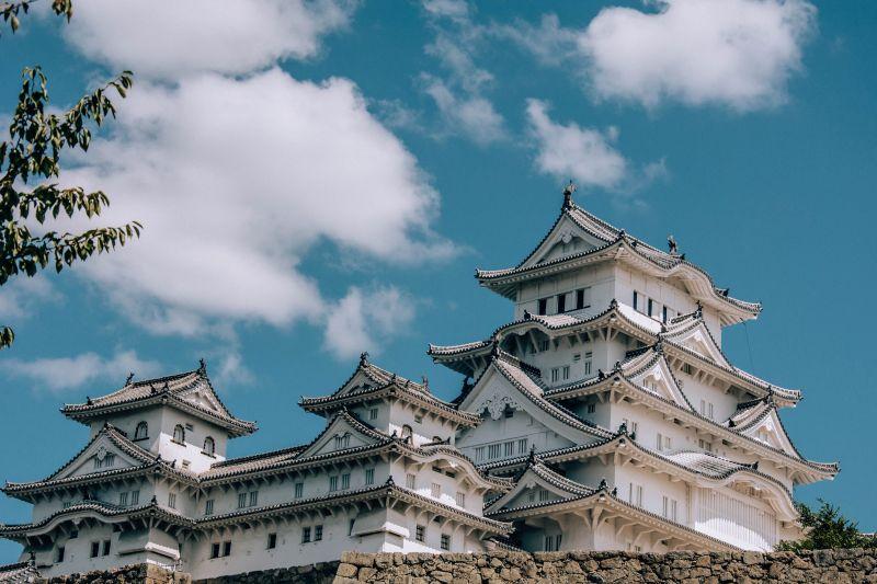 Burg Himeji, Weisses Schloss in Japan