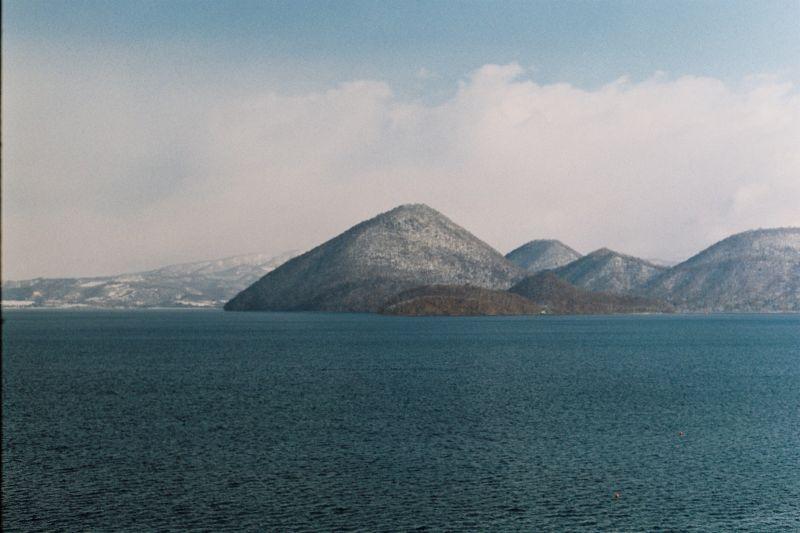 Berg und See in Hokkaido, Beste Reisezeit Japan Winter