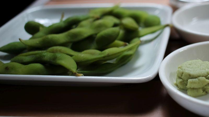 Edamame, Japanisches Gericht, Bohnen