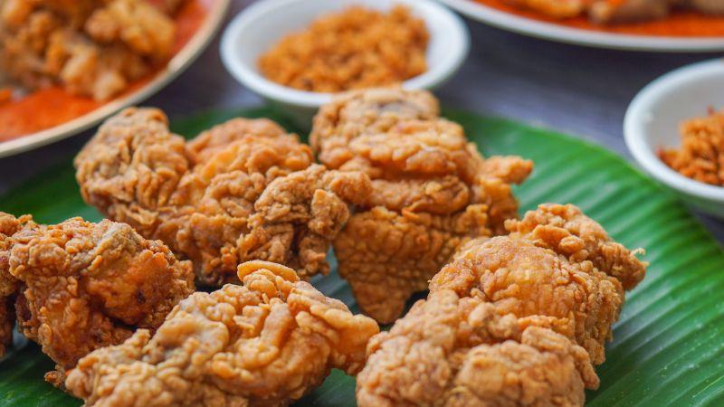 Karaage, Frittiertes Hähnchen, Japan