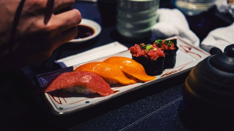 Sushi, Japanische Gerichte, Fisch, Reis