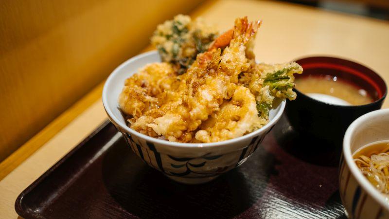 Tempura, Frittiertes, Japanische Küche