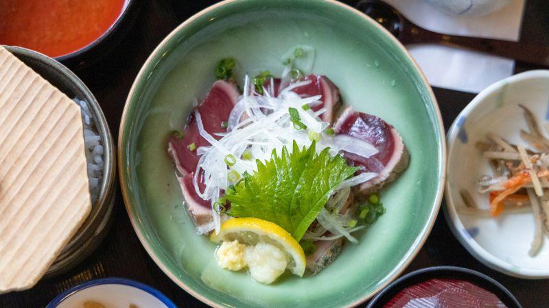 Sashimi, Roher Fisch, Japanische Küche
