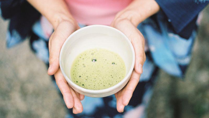 Matcha, Tee, Japanisches Getränk
