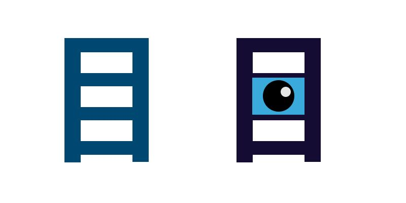 Kanji lernen, Auge, Piktogramm
