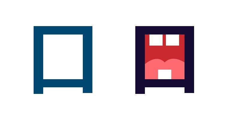 Kanji, Mund, Piktogramm, Japanisches Schriftzeichen