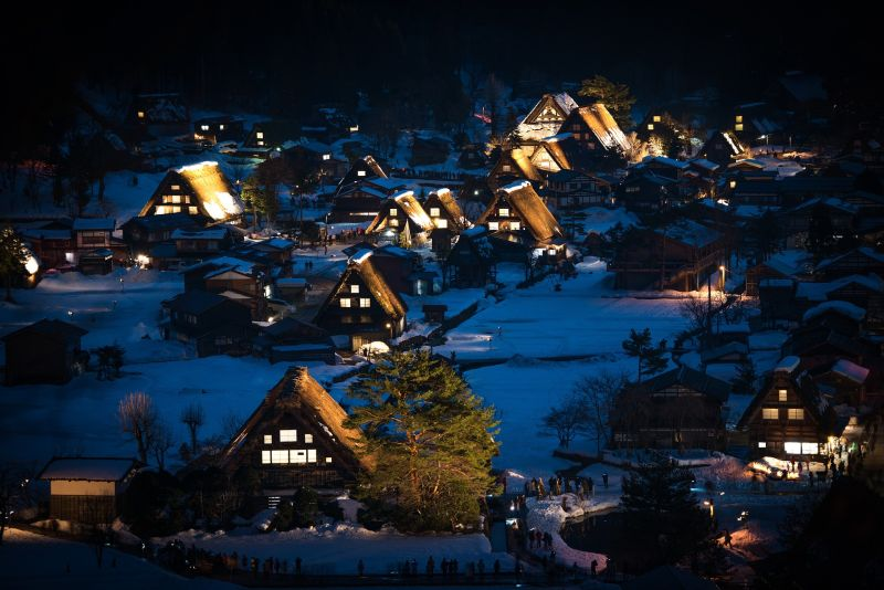 Shirakawago, Reisedauer, Japan Reise planen, Reisedauer