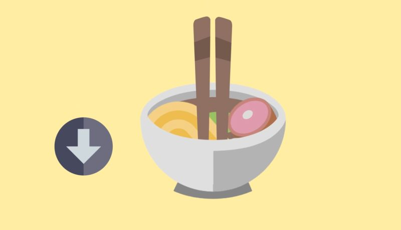 Schale, Essstäbchen, Gepflogenheiten im japanischen Restaurant